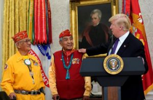 Code talkers and trump